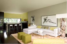 combination of grey and green is my favourite living space uses