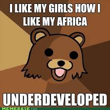 Hairless Bear Meme - pedo bear sharenator