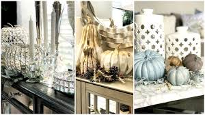 bling home decor fall home decor decorating with pumpkins youtube