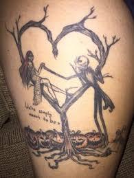 tattoo nightmares los angeles california tim burton corpse bride nightmare before christmas tattoo character