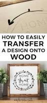 how to easily transfer a design onto wood diy wedding signs diy