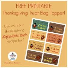 printable bag toppers for thanksgiving happy thanksgiving