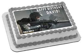call of duty birthday cake call of duty 1 edible cake and cupcake toppers edible prints on