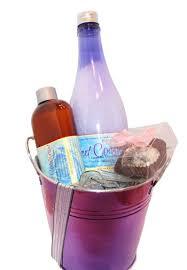lavender gift basket therapeutic lavender foot bath gift basket spa salts bon bon