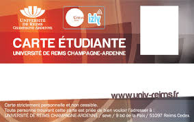 université de reims bureau virtuel carte étudiante urca