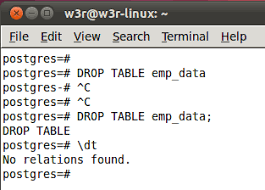 Postgresql Alter Table Add Column Postgresql Create Table W3resource