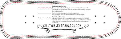 printable area old os skateboard design template for every shape and size wholesale
