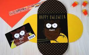 free printables happy owloween gift card holders gcg