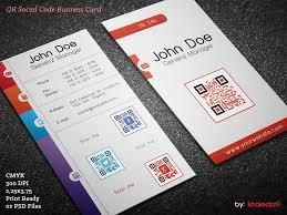 Business Card With Qr Code Qr Social Code Business Card By Khaledzz9 On Deviantart