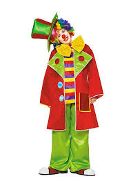 clown costumes auguste the clown costume maskworld
