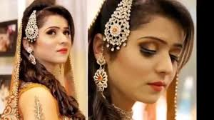 indian bridal hairstyle latest bridal hairstyle trend 2015 for pakistani and indian brides