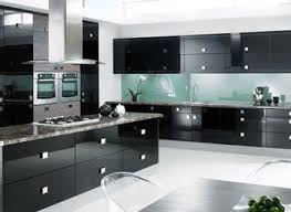 Black And White Kitchen Chairs - creative of modern kitchen furniture design modern black kitchen