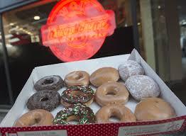 krispy kreme friday the 13th deal 2 dozen doughnuts for 13 money