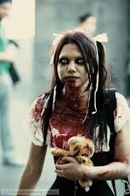 Girls Zombie Halloween Costume 25 Zombie Costume Ideas Zombie
