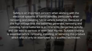 dorman install of hybrid battery for honda civic gen 2 battery