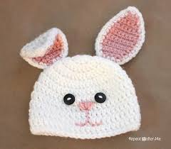easter bunny hat 15 bunny crochet patterns for easter