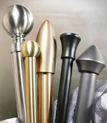 Metal Curtain Rods And Finials Curtain Rods U0026 Drapery Rods U2013 Hardware And Accessories
