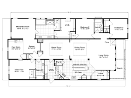 Modular In Law Suite by La Belle Iv Tl40764b Manufactured Home Floor Plan Or Modular Floor