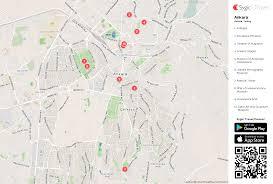 ankara on world map ankara printable tourist map sygic travel