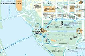 Map Dc Washington Dc Map Lincoln Memorial At Maps