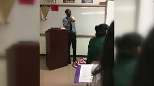 Desecrating The Flag Teacher Steps On American Flag During A Lesson On Free Speech Cnn