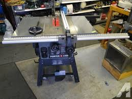 heavy duty table saw for sale porter cable pcb270ts 10 heavy duty table saw nice shape for sale