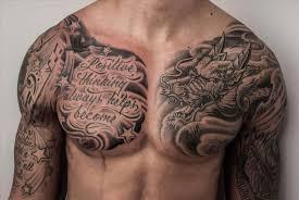 60 badass chest tattoos for manly ink design ideas 60 badass chest