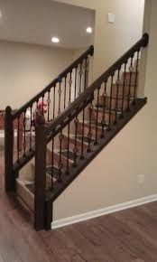 pre made stair railings iron stairs outdoor interior railing kits