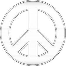 peace sign coloring pages coloringsuite com