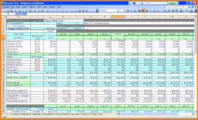 Restaurant Budget Spreadsheet by 28 Business Budget Template Excel Business Budget Template 13