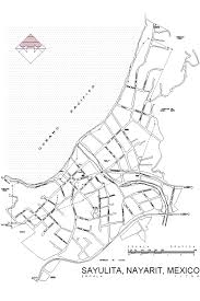 Nayarit Mexico Map by Local Maps Punta De Mita
