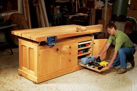 Carpentry Work Bench Aw Extra Dream Workbench Popular Woodworking Magazine