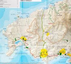 Sparta Greece Map by Hiking Map Of Skiathos Island Greece Terrain Cartography