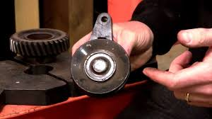 idler pulley bearing replacement how to youtube