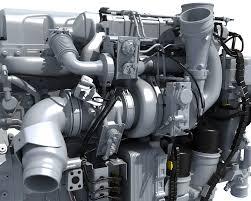 paccar trucks 3d powertrain truck engine model u2013 3d horse