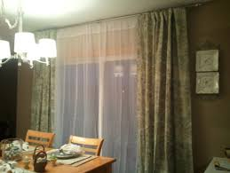 Patio Door Curtain Rod Curtain Rods For Patio Sliding Doors Saudireiki Regarding Sliding