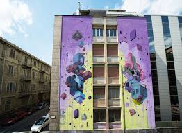 duel italian based artist etnik has just finished his latest wall by the name duel in turin italy with a collaboration with square23 gallery