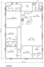 Four Bedroom Bungalow Floor Plan Ranch House Floor Plans 4 Bedroom Love This Simple No Watered