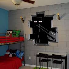 deco chambre minecraft incroyable deco chambre minecraft amazon minecraft wall decal decor