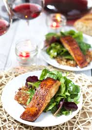 Valentine S Dinner At Home by 3 Course Grilled Salmon Dinner At Home On Wine4 Me Vindulge