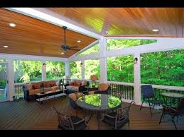 deck porch and patio porches with trex decking youtube