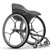 Go Design by Benjamin Hubert U0027s 3d Printed Wheelchair To Launch During