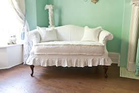 white sofa slipcover