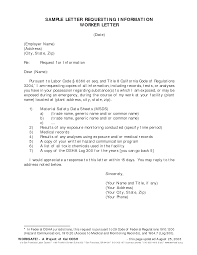 request for information letter template resume templates updated