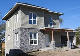 how to build a passive house using a prefabricated panel system aia