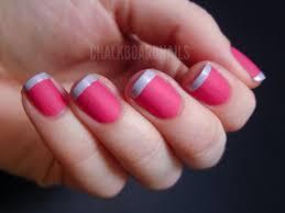 valentine u0027s french tips chalkboard nails nail art blog
