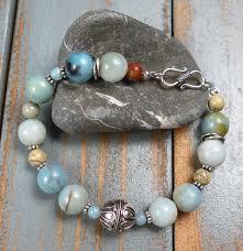 bracelet handmade jewelry images Handmade amazonite and bali silver bracelet handmade jewelry jpg