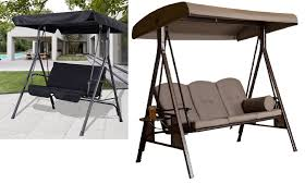 Agio International Patio Furniture Costco - patio swings with canopy youtube