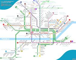 San Francisco Tram Map by Show Us Your Local Rail Transit Systems Page 9 Skyscraperpage