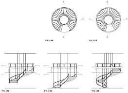 spiral staircase floor plan una escalera suspendida